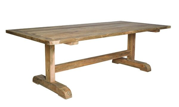 Porto Fino Teak Dining Table by Padmas Plantation