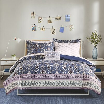 Nature Amp Floral Purple Bedding You Ll Love In 2020 Wayfair