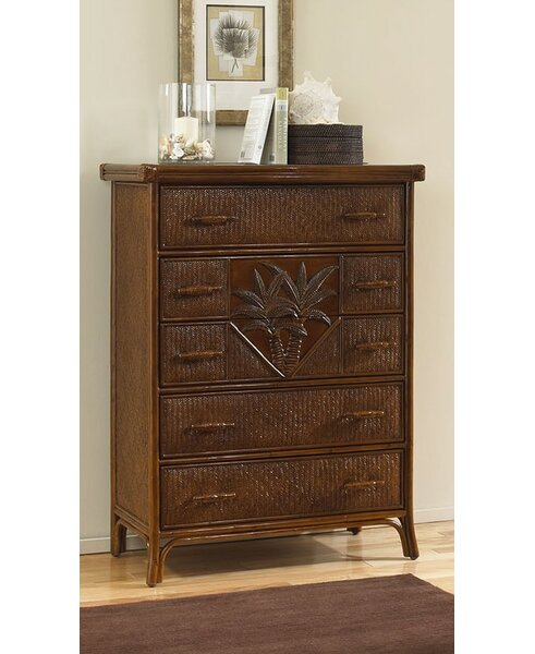 Cypress 5 Drawer Chest by Bay Isle Home