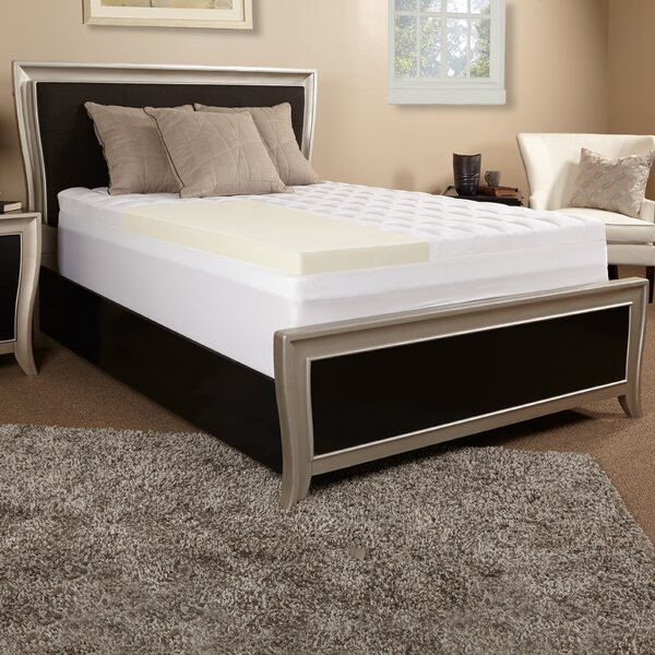 5.5 Memory Foam Mattress Topper By Luxury Solutions.
