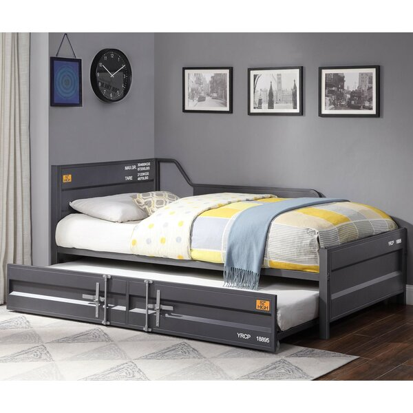 Gravesend Twin Bed with Trundle by 17 Stories