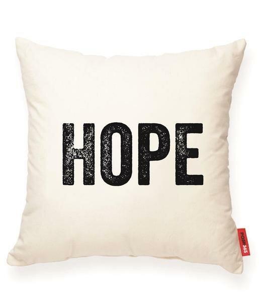 Pettis Hope Cotton Throw Pillow by Wrought Studio