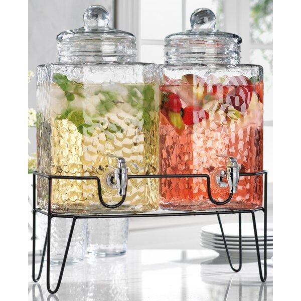 Hagan 3 Piece Beverage Dispenser Set by Mint Pantry