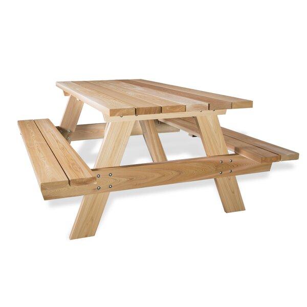 Cedar Picnic Table by All Things Cedar