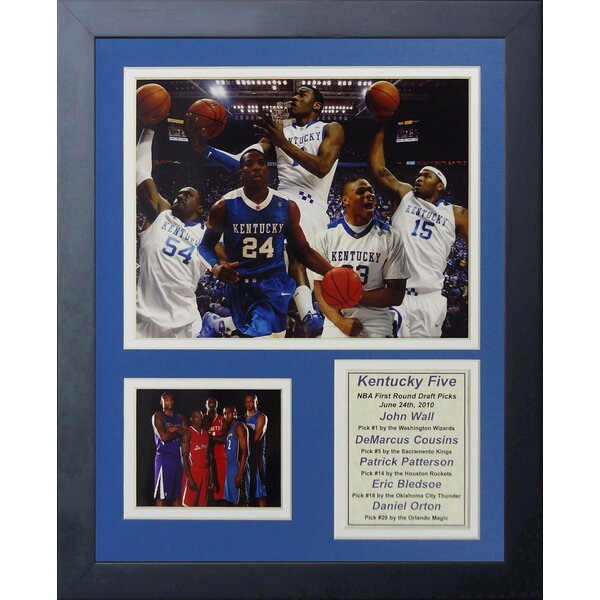 2010 Kentucky Wildcats - Draft Picks Framed Memorabilia by Legends Never Die