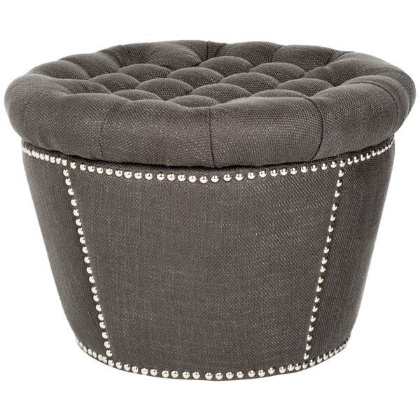 Vanessa Storage Ottoman by Safavieh