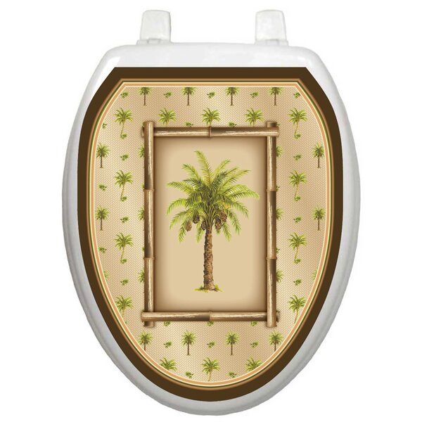 Themes Bahamas Breeze Toilet Seat Decal by Toilet Tattoos