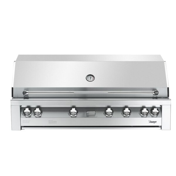 Vintage 5-Burner Built-In Gas Grill with Smoker by Vintage Appliances