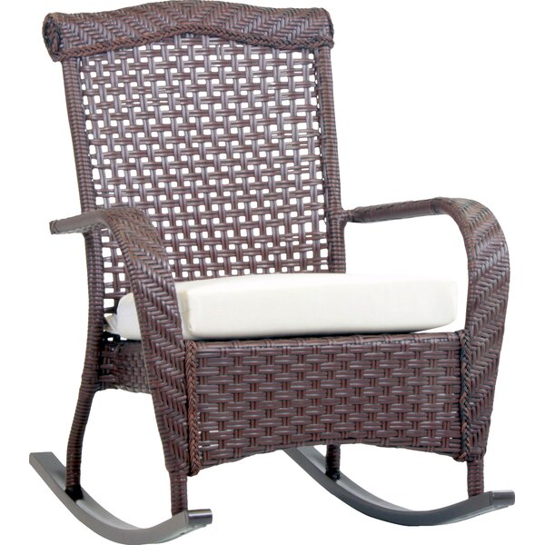 Allerdale Rocking Chair with Cushion by Bloomsbury Market