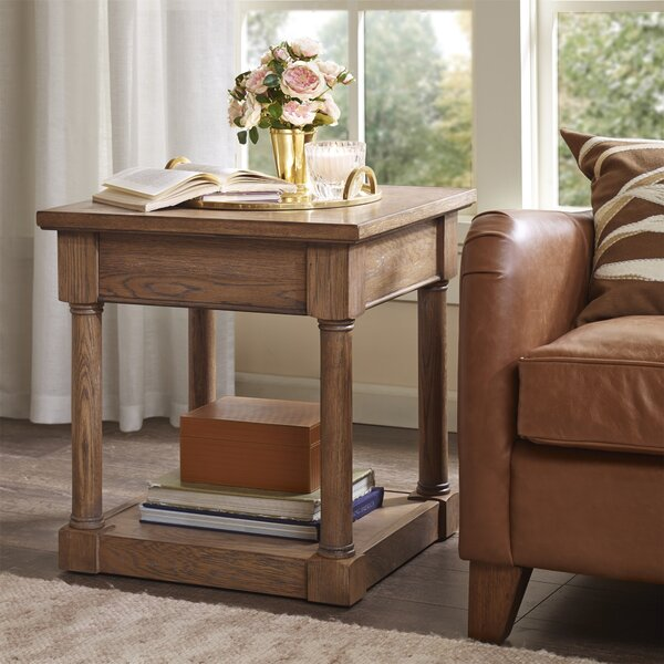 Georgetown End Table with Storage by Harbor House