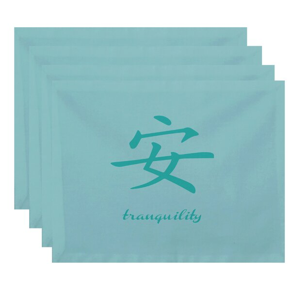 Chantilly Tranquility Print Placemat (Set of 4) by Bloomsbury Market