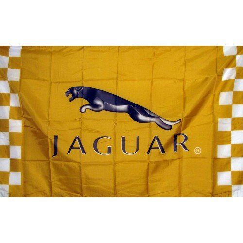 Jaguar Racing Polyester 3 x 5 ft. Flag by NeoPlex