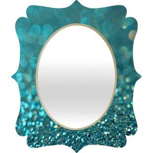 Brayden Studio Parrott Quatrefoil Wall Mirror