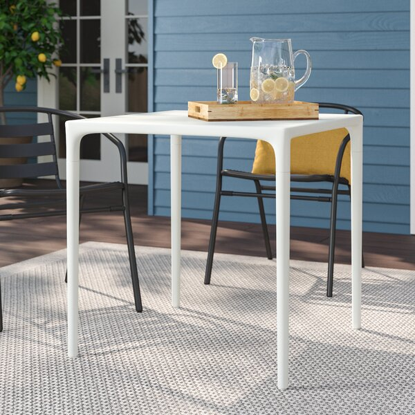 Del Mesa Plastic/Resin Dining Table by Zipcode Design
