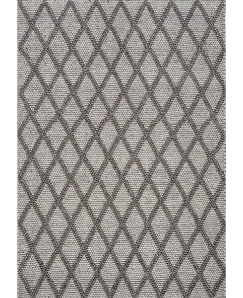 Alpine Hand-Woven Gray Area Rug by Kalora