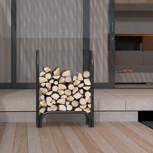 Indoor/Outdoor Firewood Shelter Log Rack