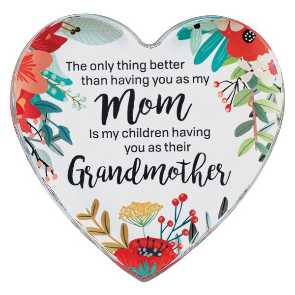 Mom and Grandmother Decorative Slate by CB Gift