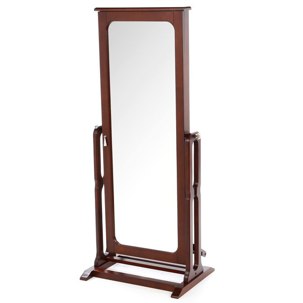 Gonson Cheval Jewelry Armoire with Mirror by Alcott Hill