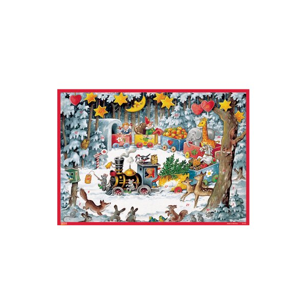 Korsch Christmas Train Advent Calendar by Alexander Taron