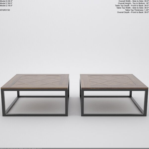 Rouen Coffee Table by August Grove