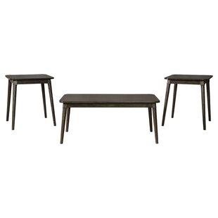 Callihan 3 Piece Coffee Table Set ByGeorge Oliver