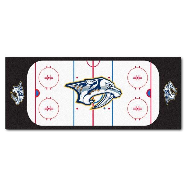 NHL - Nashville Predators Rink Runner Doormat by FANMATS