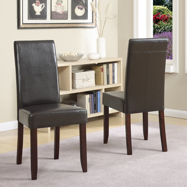 Mayna Upholstered Dining Chair (Set of 2) by Alcott Hill