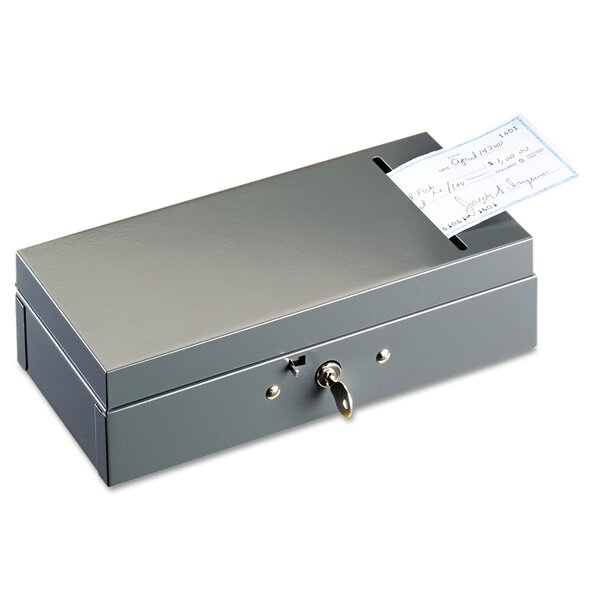 Steelmaster Steel Bond Box with Check Slot by MMF Industries