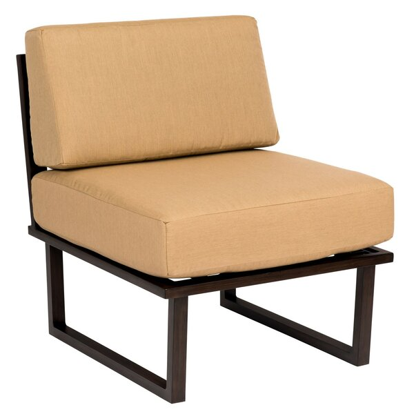 Harmony Armless Chair by Woodard