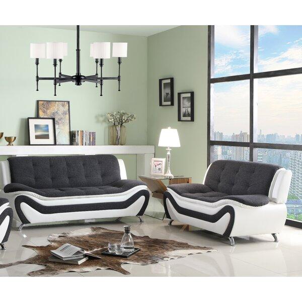 Lunas 2 Piece Living Room Set by Orren Ellis Orren Ellis