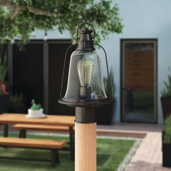 Marilou Outdoor 1-Light LED 14.8 Post Light by Williston Forge