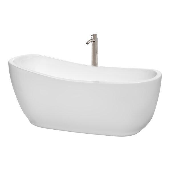 Margaret 66.5 x 27.5 Soaking Bathtub by Wyndham Collection