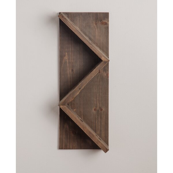 Conwell 4 Bottle Wall Mounted Wine Bottle Rack by Union Rustic Union Rustic