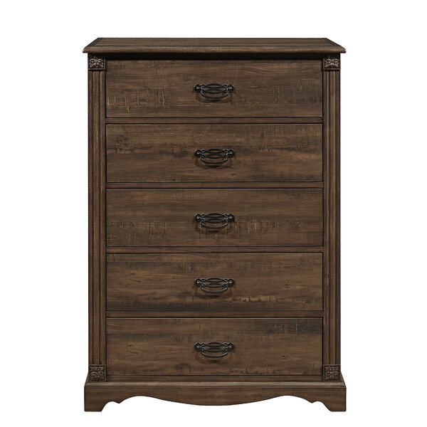 Feldmann 5 Drawer Chest by Darby Home Co