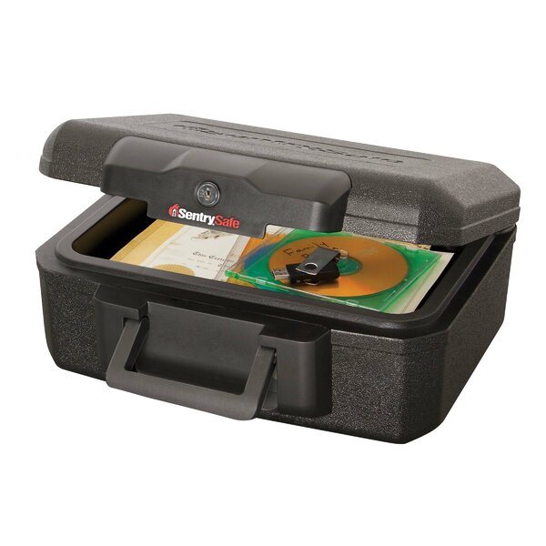 0.5-Hour Fireproof Key Lock Chest Safe by Sentry Safe