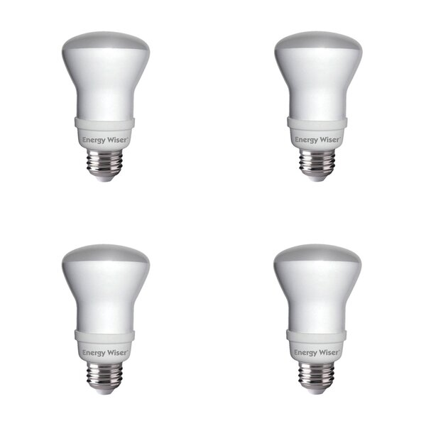 11W E26 CFL Spotlight Light Bulb Frosted (Set of 4) by Bulbrite Industries