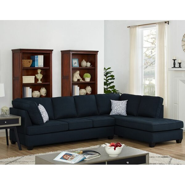 Evonne Reversible Sectional by Wrought Studio