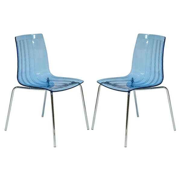 Rachael Stacking Patio Dining Chair (Set of 2) by Orren Ellis
