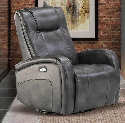 Hiller Power Glider Swivel Recliner by Winston Por