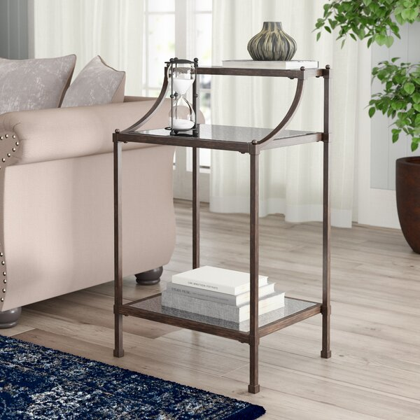 Caldwell End Table With Storage By Birch Lane™ Heritage