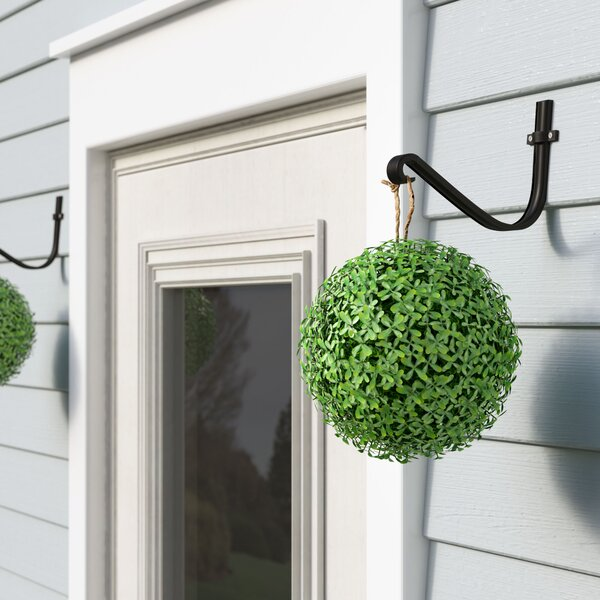 Hanging Round Boxwood Topiary by Ophelia & Co.
