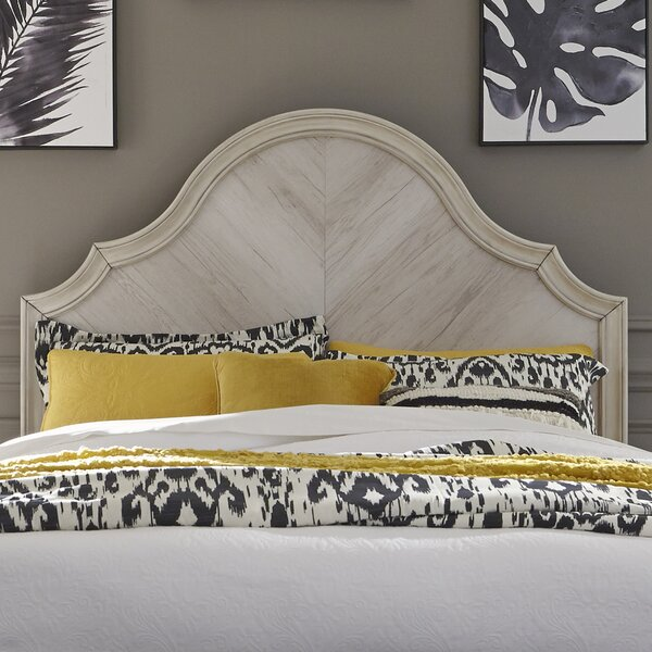 AlmedaCheatham Panel Headboard by Ophelia & Co.