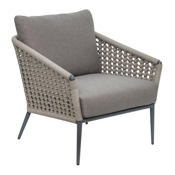 Archipelago Antilles Patio Chair with Sunbrella Cushions by Seasonal Living