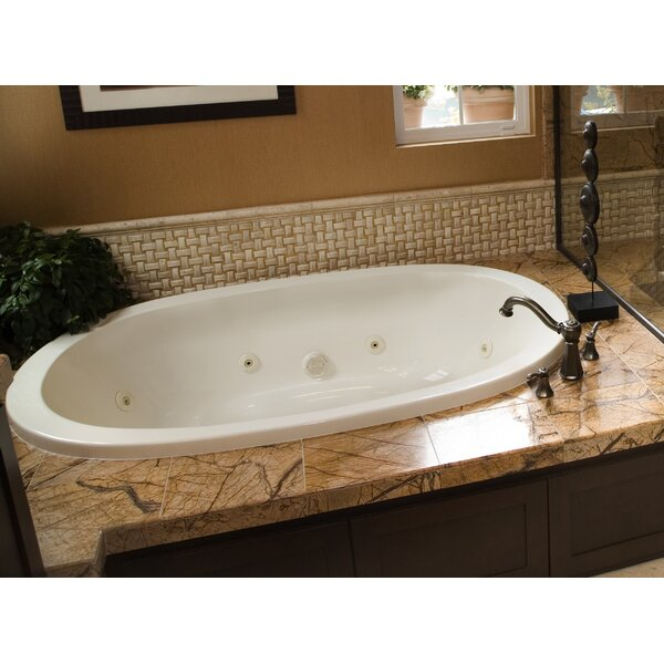 Designer Galaxie 74 x 44 Whirlpool Bathtub by Hydro Systems