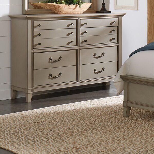 Loughton 8 Drawer Double Dresser by Canora Grey