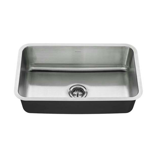 Reliant + 30 L x 18 W Single Bowl Undermount Kitchen Sink by American Standard