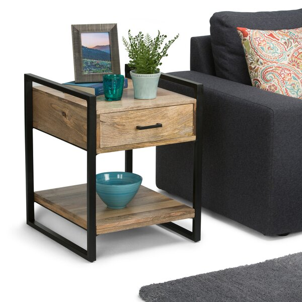 Sturdevant End Table With Storage By Williston Forge New