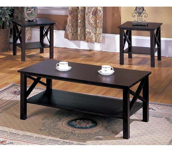 cherry coffee table sets you'll love | wayfair
