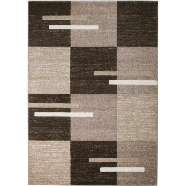 Grimes Brown/Taupe Area Rug by Orren Ellis