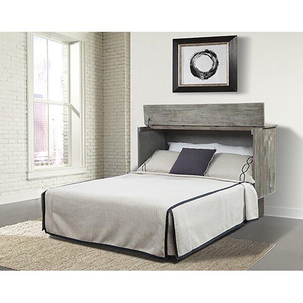 Wankowski Ash Queen Storage Murphy Bed with Mattress by Brayden Studio
